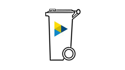 Mülltonneabfallbehälter