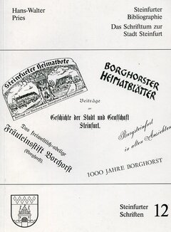 Cover Steinfurter Bibliographie
